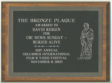 Bronze Plaque Columbus 2003