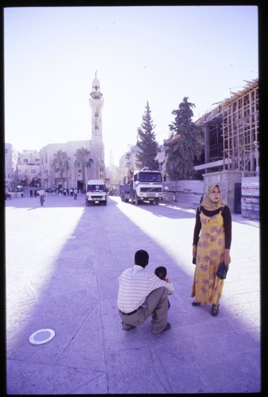 Bethlehem Mosque Couple 1999