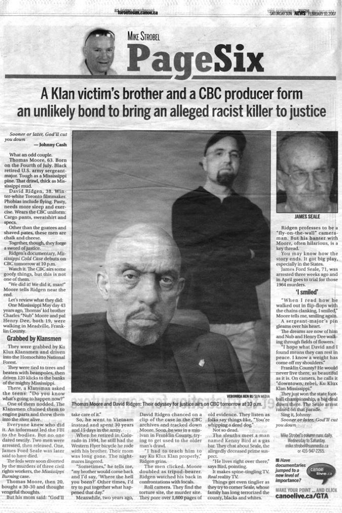Toronto Sun, Mike Strobel