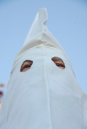 FBI wears real Klan Mask, 2011