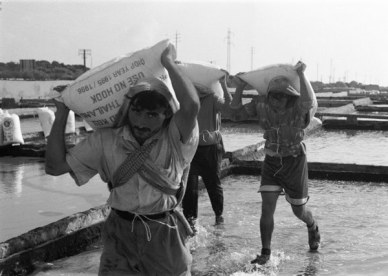 Salt Factory, Tripoli, Lebanon 1997